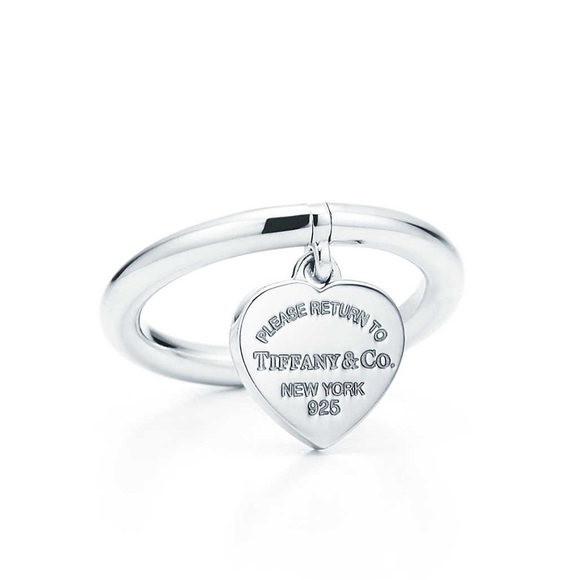 342bc013e Tiffany & Co. Jewelry | Return To Tiffany Heart Tag Ring | Poshmark